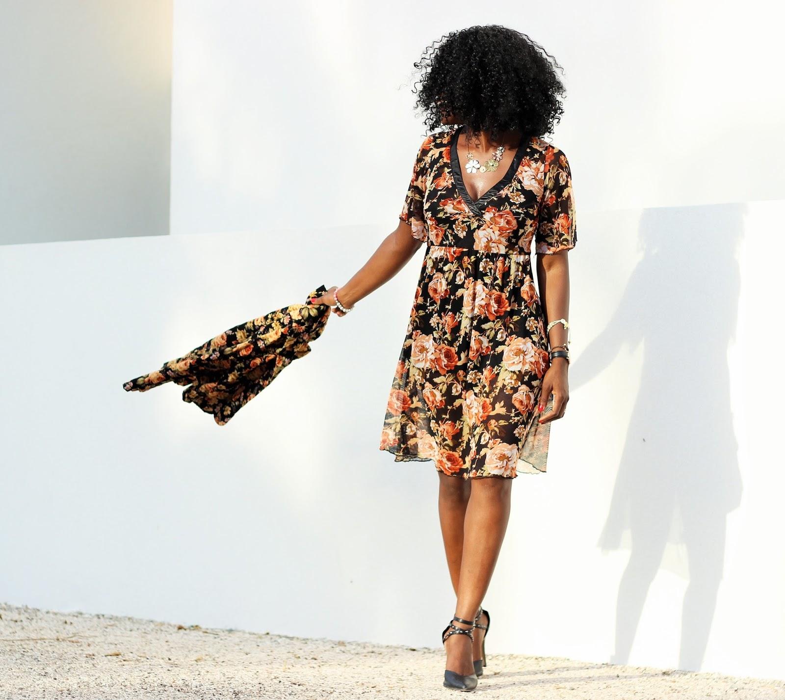 SPRING MIX: FLORAL BLAZER x FLORAL DRESS