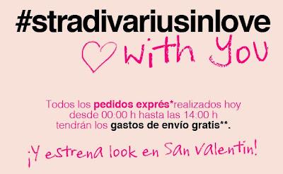 #stradivariusinlove GASTOS DE ENVIO GRATIS SOLO HOY