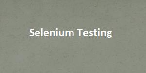 hsfp selenium testing image