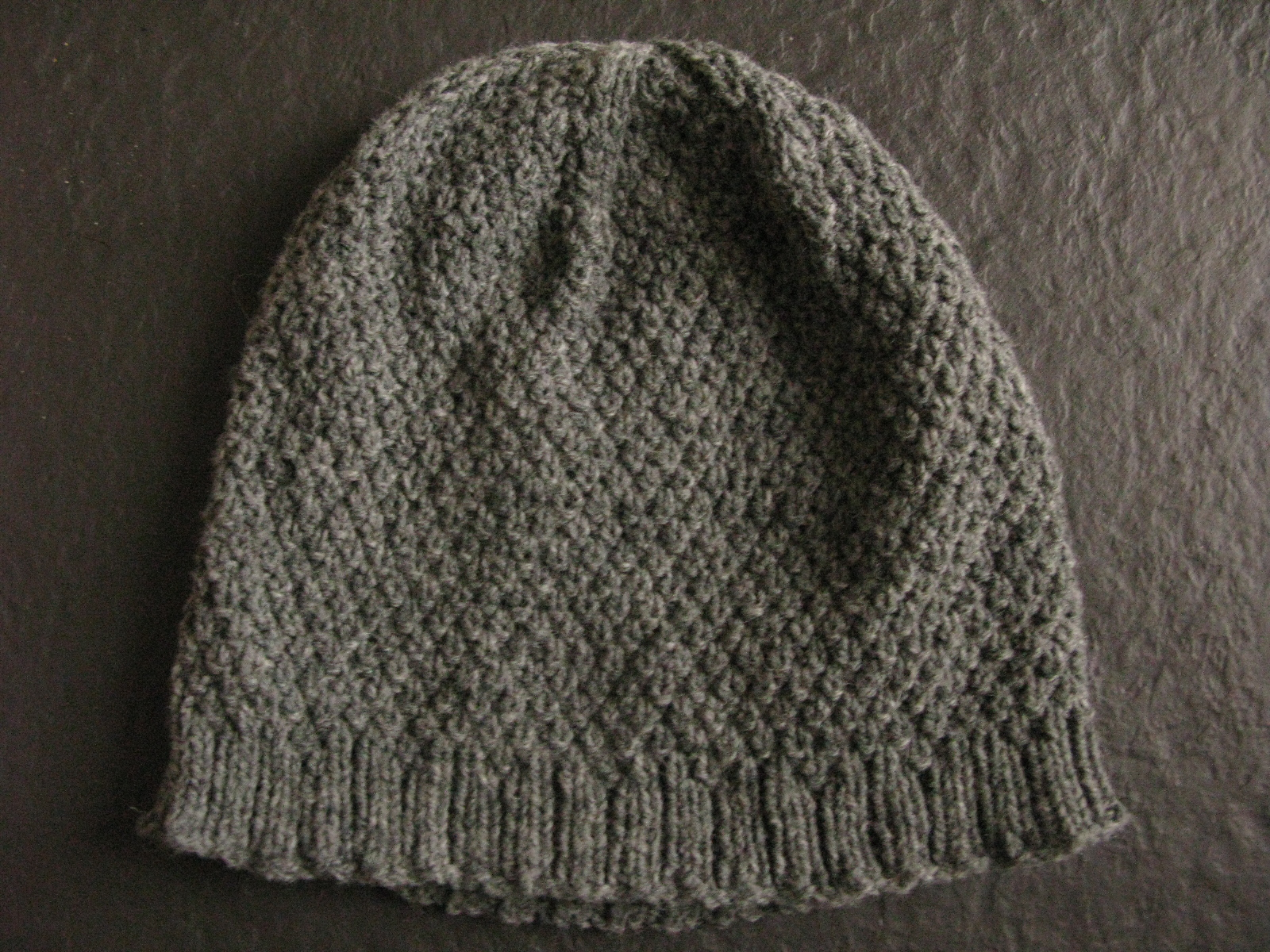 Knitting Double Moss Stitch Instructions : littletheorem: Asterisk Hat