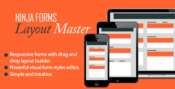 Free Download Ninja Forms V1.7.2 - Layout Master Wordpress Plugin/Add-On