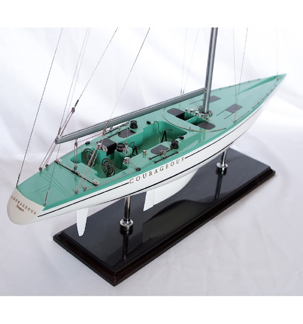 Courageous 1974 Sailboat Model
