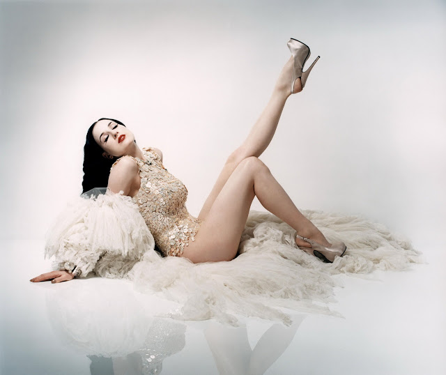 Dita Von Teese - Perou Photoshoot 2005 for Flaunt Magazine