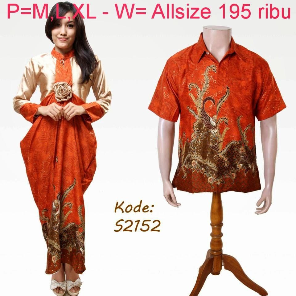 Baju Batik Berpasangan
