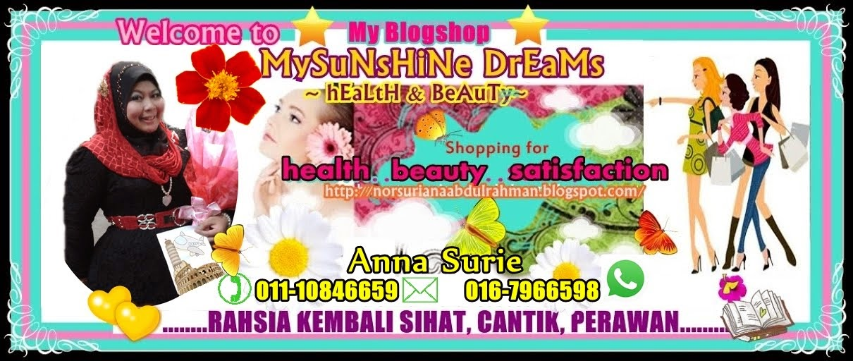 Mysunshine Dreams ~ Health n Beauty