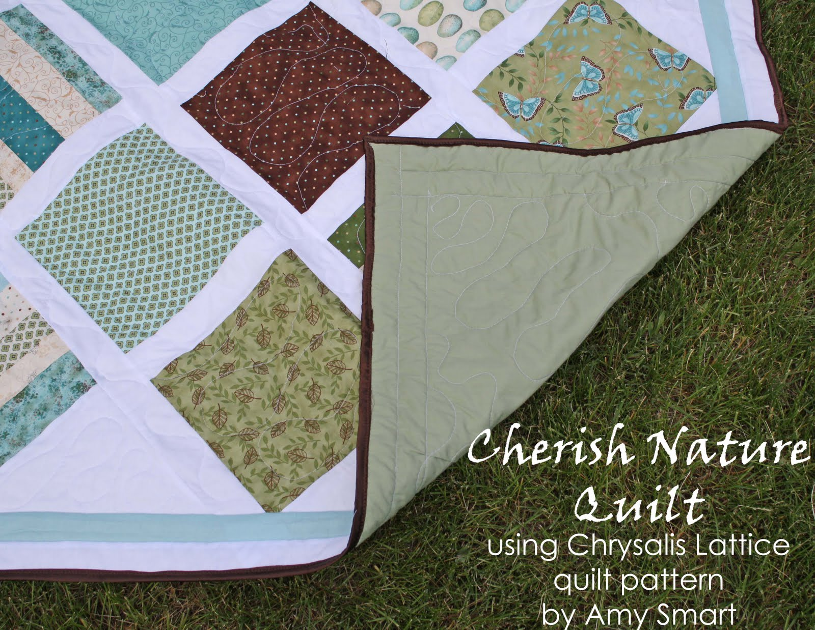 Running With Scissors: Cherish Nature Quilt