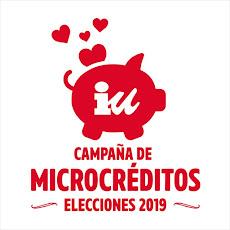 Campaña de microcréditos elecciones 2019 de Izquierda Unida