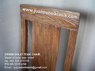 Supplier mebel jati furniture jati kayu tpk kursi makan jati solid kayu tpk kursi makan rustic antique
