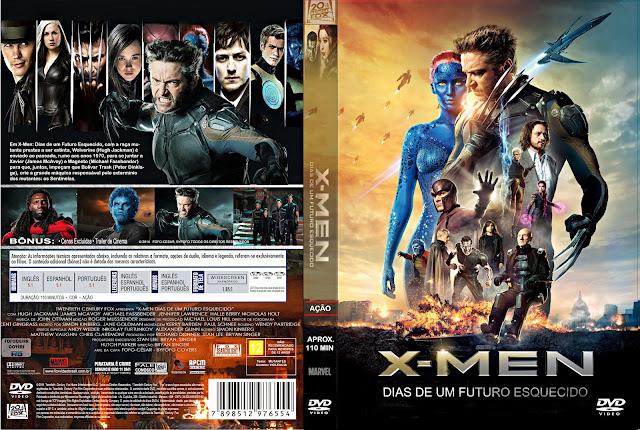 Capa DVD X Men Dias De Um Futuro Esquecido