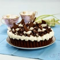 Gambar Kue Blackforest Pie