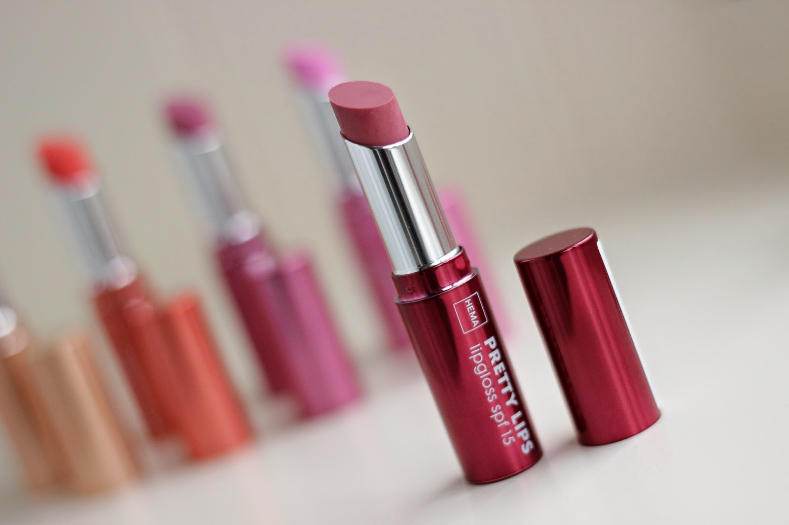 hema pretty lips lipgloss dusty pink
