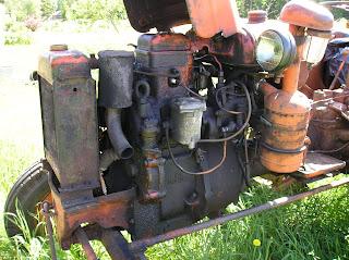 Двигатель колёсного трактора ХТЗ ДТ-14