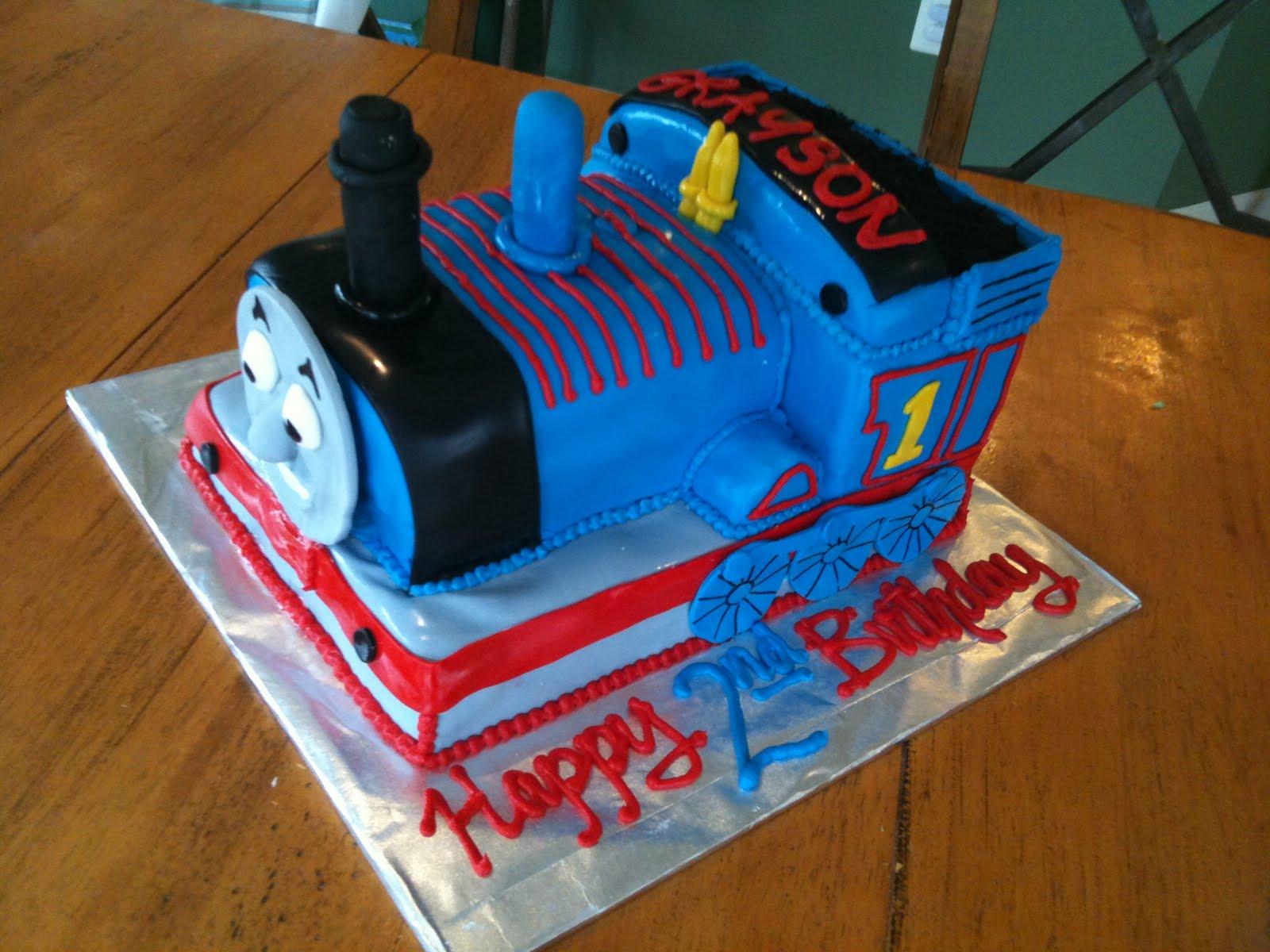 Jillys Takes The Cake Thomas The Train Cake