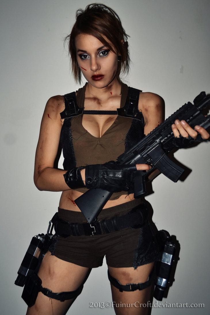 Lara croft cosplay 2013 - Tomb raider deguisement ...