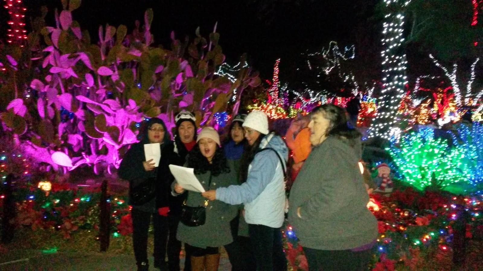 Rendla Ramblings: Christmas Carols at Ethel M Chocolate Factory