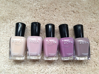 Zoya, Zoya nail polish, Zoya Naturel Collection, Zoya Taylor, Zoya Brigitte, Zoya Rue, Zoya Chantal, Zoya Odette, Zoya Normani, nails, nail polish, nail lacquer, nail varnish, nail art, manicure