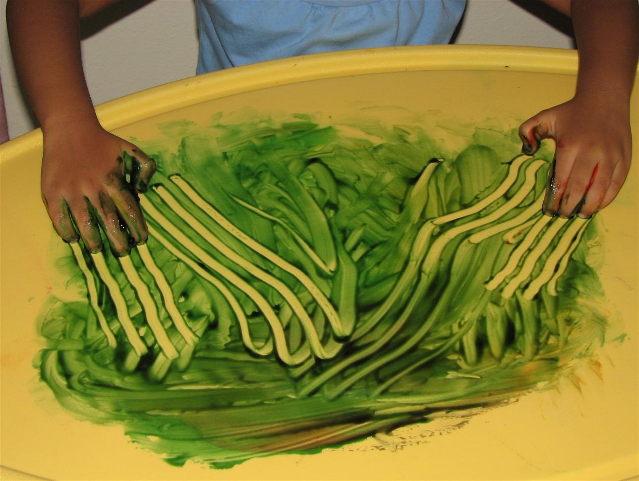 Exploring Finger Paints and Monoprint !! ~ Putti\'s World -kids ...