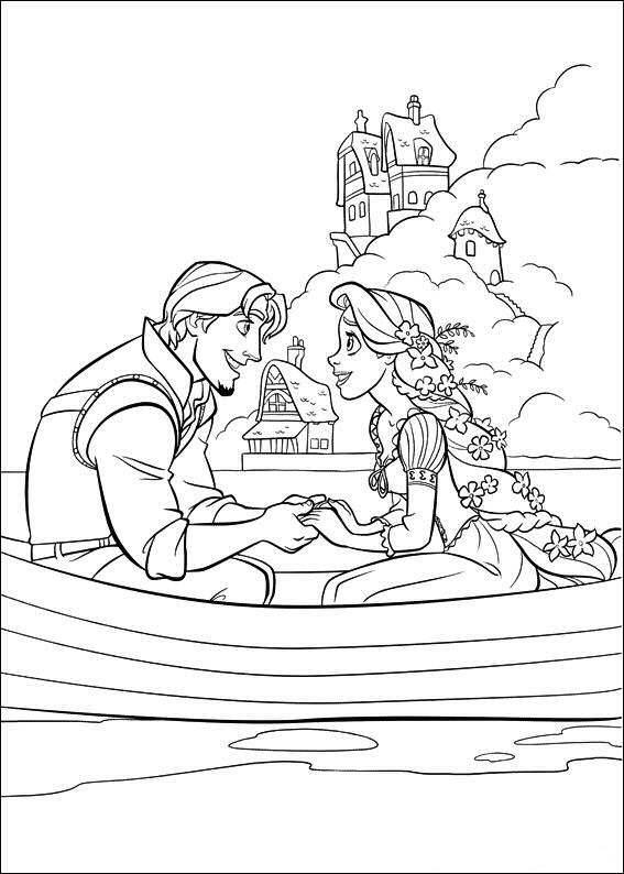 122 Best Rapunzel Birthday Printables Images On Pinterest - tangled coloring pages pdf