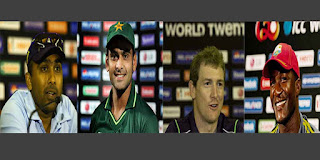 T20 World Cup 2012 Semi-final teams