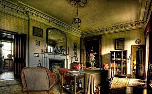 interior Badley castle