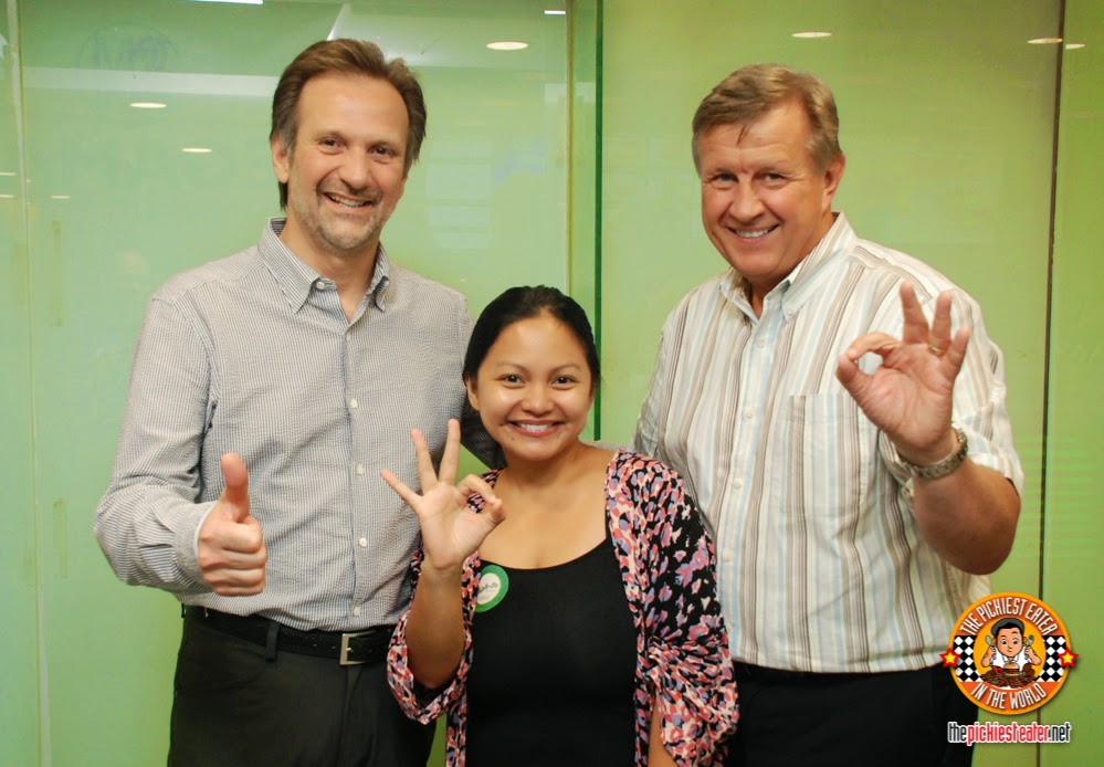 Triple-O's VIP in manila, peter toigo, warren errhart, rinas rainbow