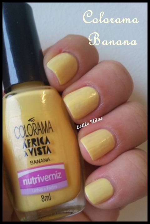 Estilo Uñas: Colorama Banana