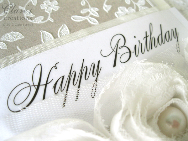 Happy Birthday Fonts ~ Srm stickers 2012 design team!! clares creations
