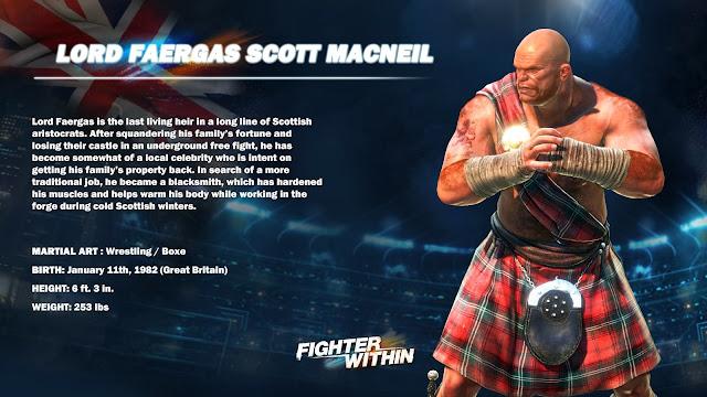Fighter Within - 23 imagens do jogo