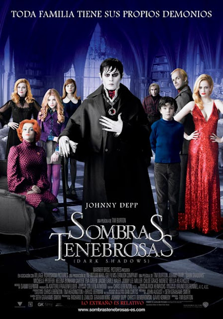 Poster Oficial Sombra Tenebrosas