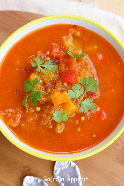 dynia soczewica zupa