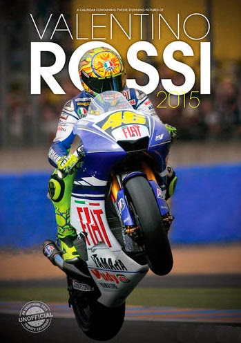 Calendario 2015 Valentino Rossi