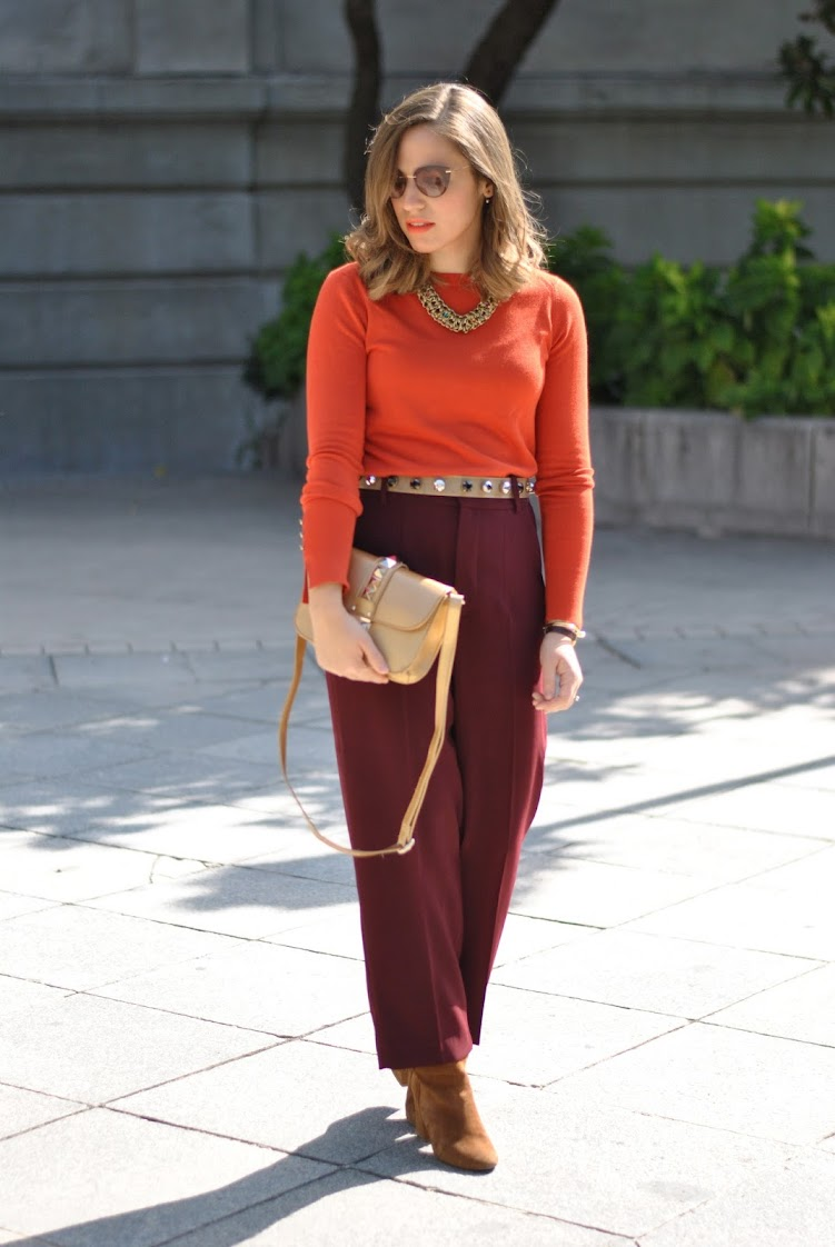 Orange/ Gold/ Marsala
