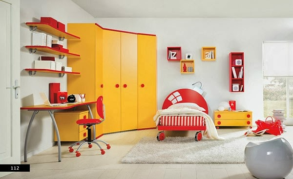 Enfants Chambres Amusement Designs