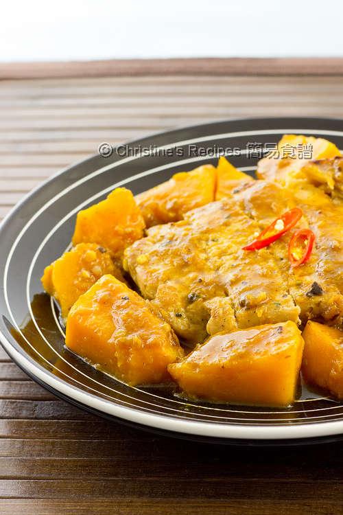 南瓜豬扒【營養好味餐】 Pumpkin Pork Chop