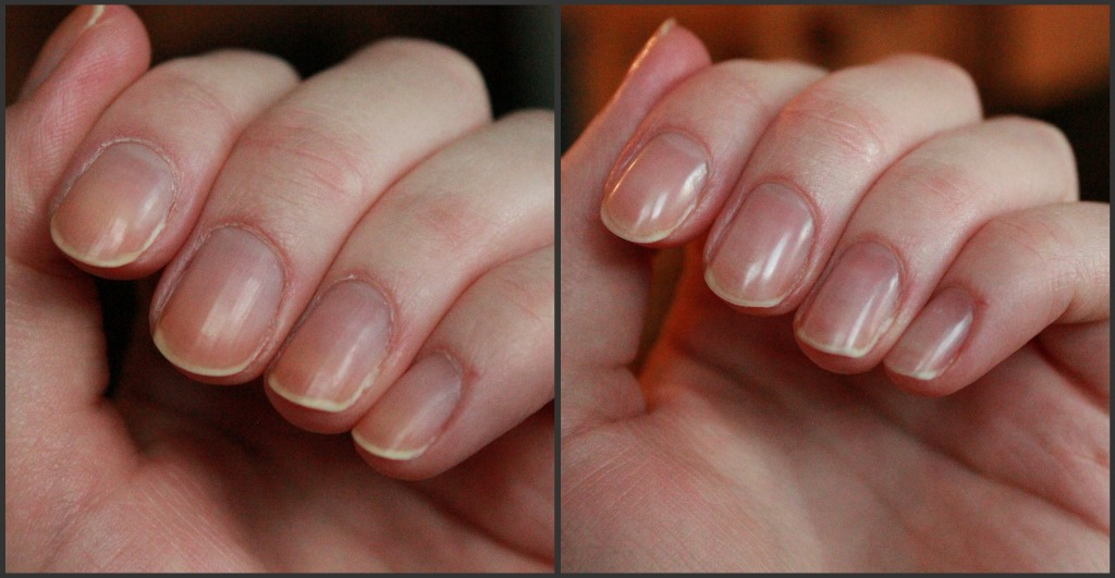 torra naglar som skivar sig