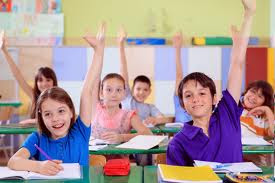 Kids in a classroom