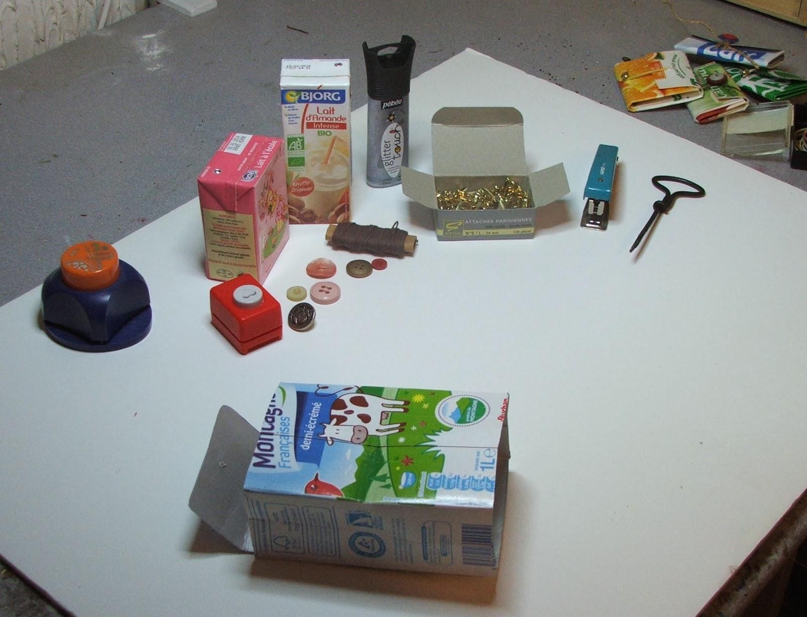 Exceptionnel Séverine Peugniez Créations: Création d'un porte monnaie recyclé  XP04