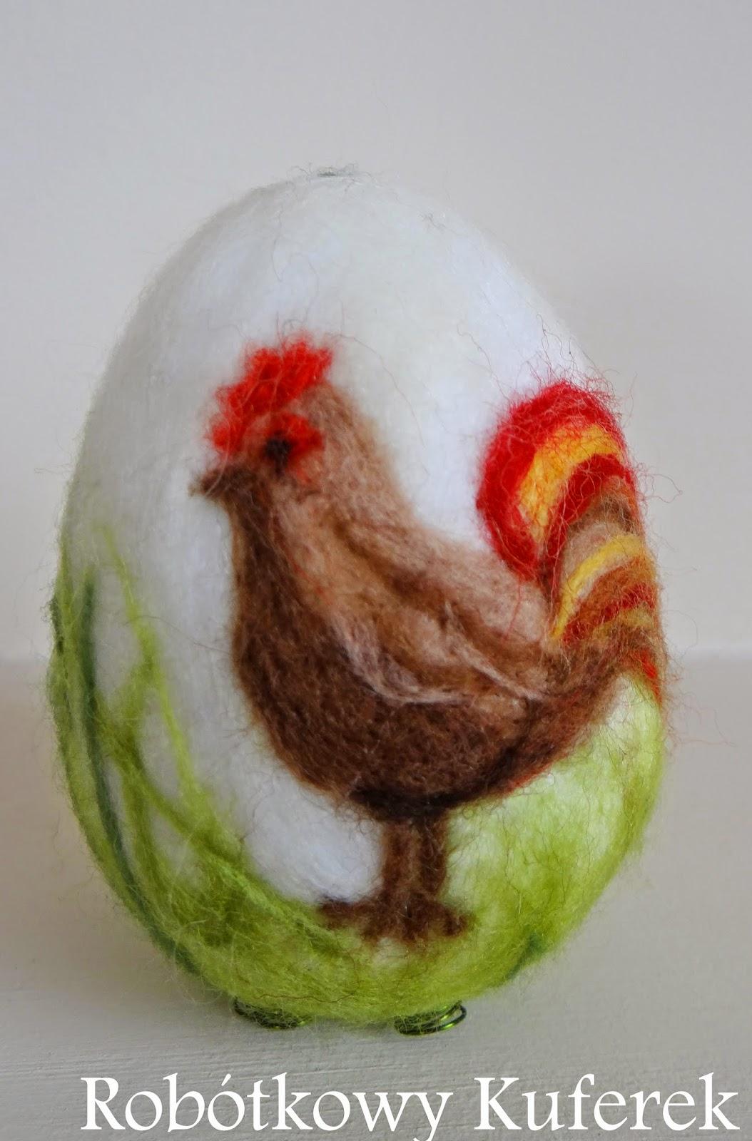 jajko filcowane
