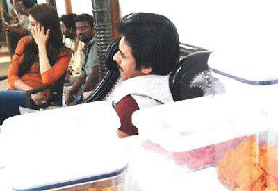 Pawan & Samantha's Movie Latest Working Stills from Sets