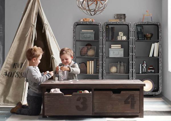 Rafa Kids Industrial Storage Ideas For Children 39 S Room