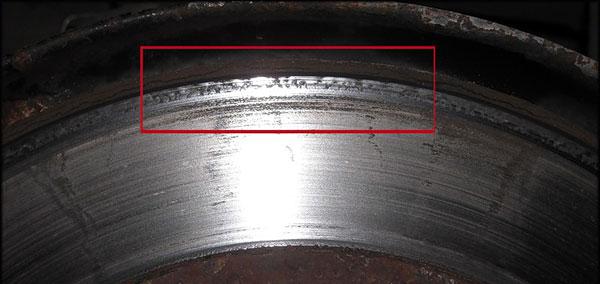 Открутился тормозной диск передний левый хендай салярис