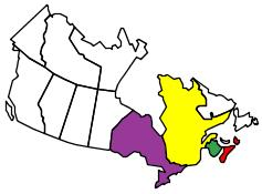 CANADIAN PROVINCES WE HAVE RV'd IN
