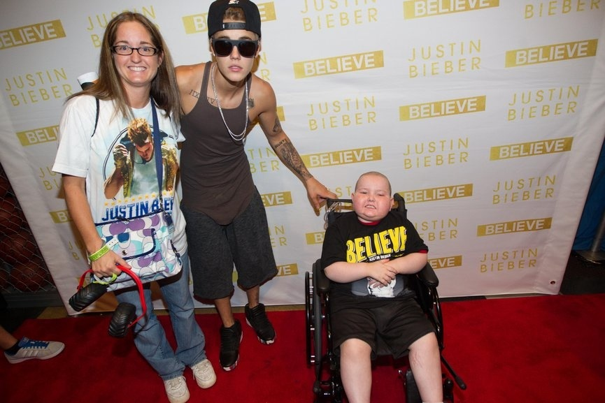 justin bieber meet and greet indianapolis 2013