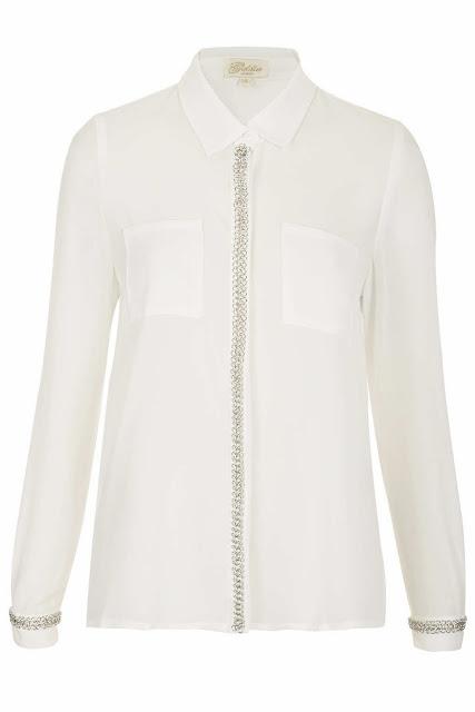 Chain detail blouse