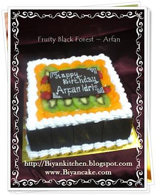 Fruit cake Arfan