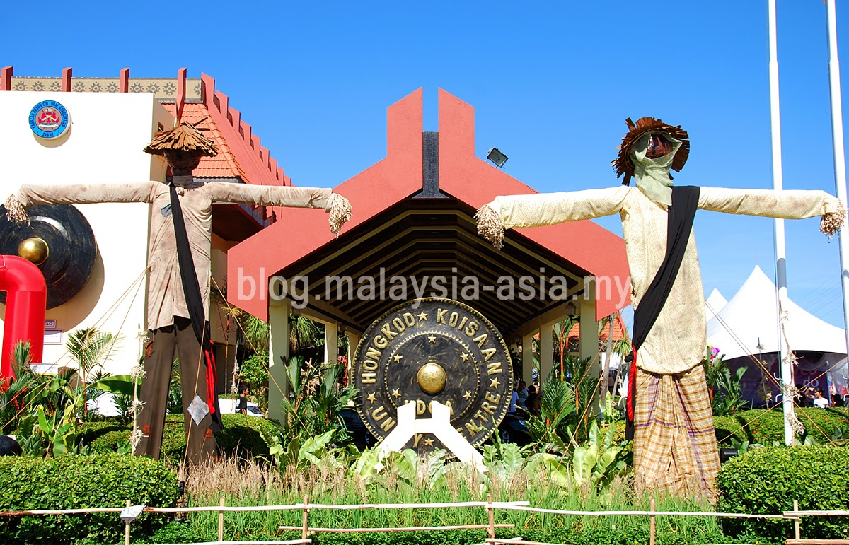 Kaamatan Harvest Festival in Sabah