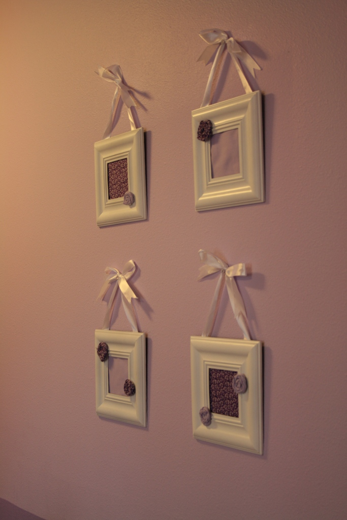 Fabric Frames Wall Art - Eat Pray Create