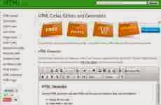 Html.am: códigos HTML, editores y generadores de código online gratis