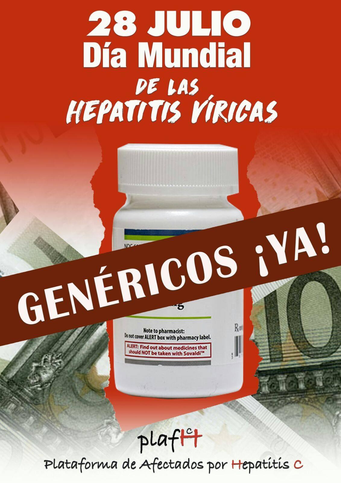 28 julio Sanidad Pública Genéricos YA