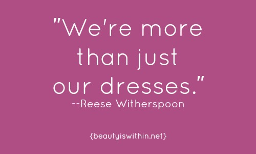 Reese Witherspoon quote at the Oscars